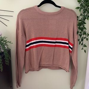 Thin long sleeve stripped forever 21 shirt